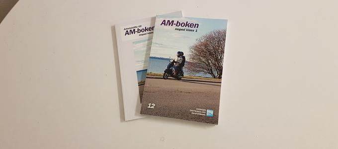 AM bokpaket teori till mopedutbilning klass 1 AM-böcker
